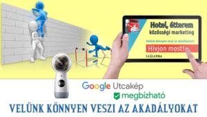 Facebook, Google, Email marketing. Fokozza láthatóságát: panoráma fotók, virtuális séták alkalmazásával. Mobil érzékeny weboldalak, webshopok készítése.