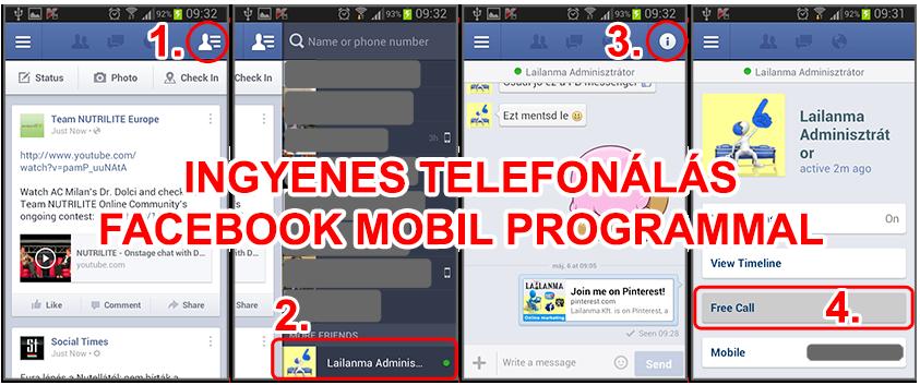free telefon a facebookon843