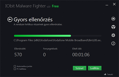 IObit Malware Fighter404