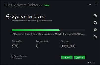 IObit Malware Fighter404