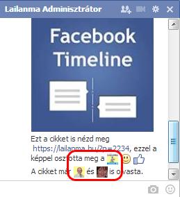 chatben profilkép