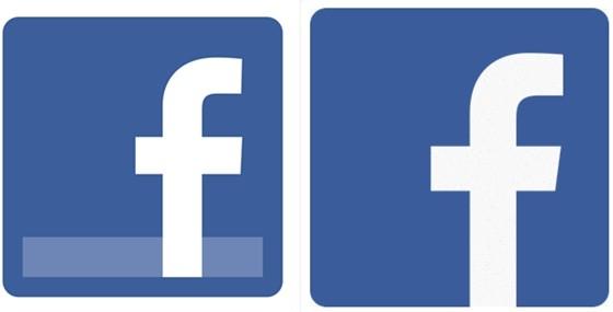 facebook logo változás