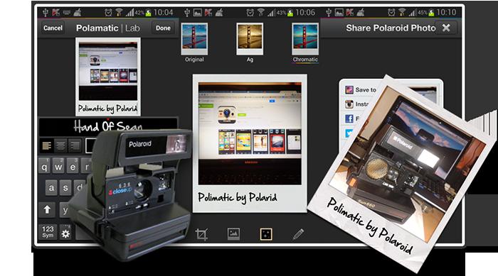 Polaroid fotók készítése mobillal - Polimatic by Polaroid
