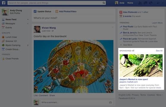 Új hirdetési méret - Kevesebb reklámot, de több kattintást ígér a Facebook