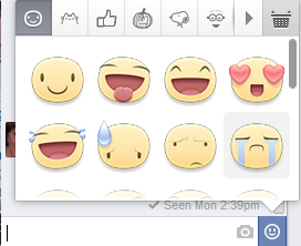 Új, nagyobb választékú Facebook Chat smiley készlet :)