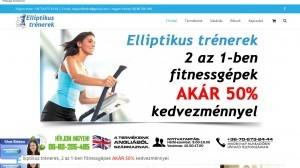 Elliptikus trénerek, 2 az 1-ben fitnessgépek-x723