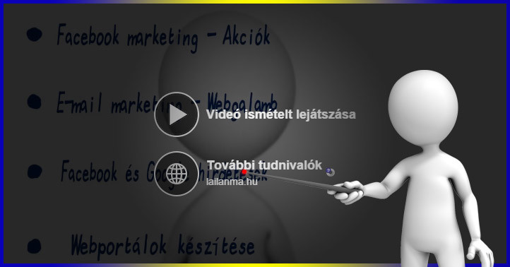 Felhívás gomb a Facebook videón