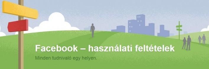 Facebook használati feltételek