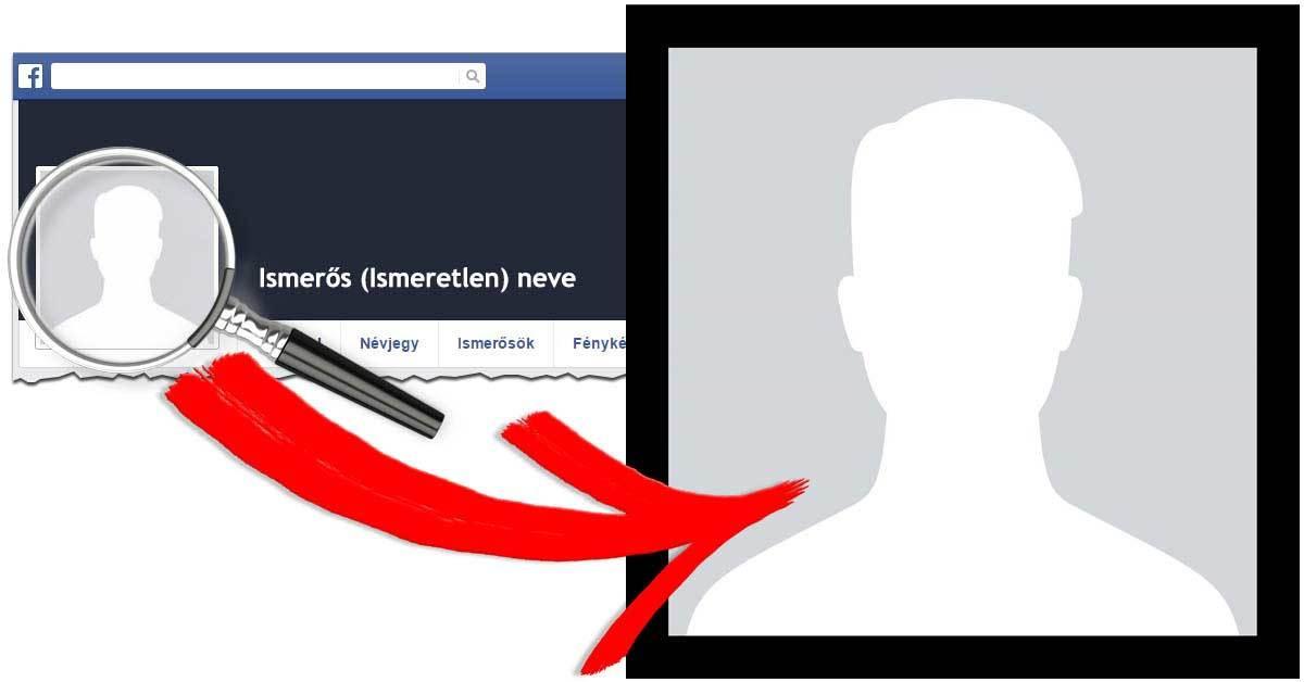 Facebook profil képek megnézése nagyobb méretben