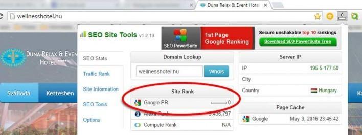 Megszűnt a Google PageRank